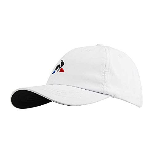 Le Coq Sportif Tennis Pro Cap M Gorra, Unisex Adulto, New Optical White/Black, Talla Única