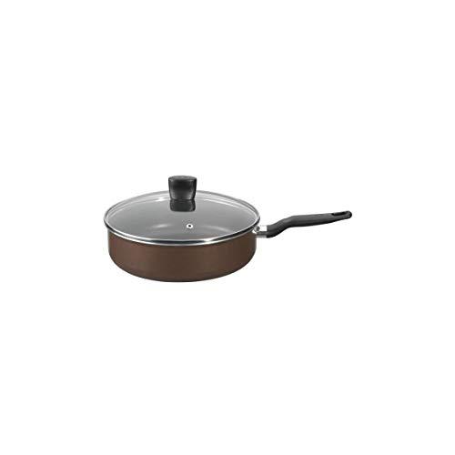 Tefal B3003302 Extra Brownie Sauteuse avec Couvercle Aluminium 26 cm