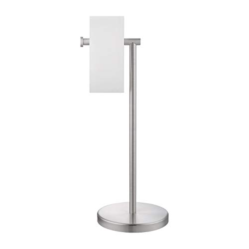 KES Toilet Paper Holder Free Standing SUS 304 Stainless Steel Rustproof Pedestal Lavatory Tissue Roll Holder Floor Stand Storage Modern Brushed Finish, BPH283S1-2