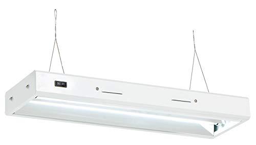Senua Hydroponic Propagation Tube Light Kit, T5, 6500 K CFL, Low Power...