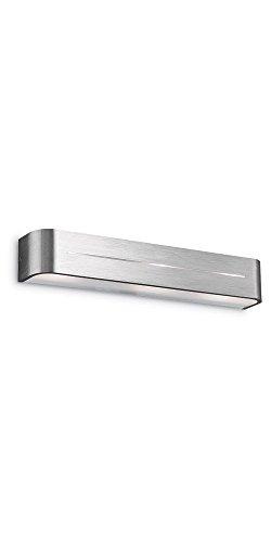 Applique Lampe Design Luminaire Murale Intérieur Moderne - Aluminium Brossé 09933n