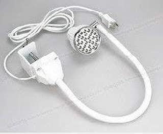 LED WHITE Task Sewing Uber Light Gooseneck Lamp Bendable Steel 22