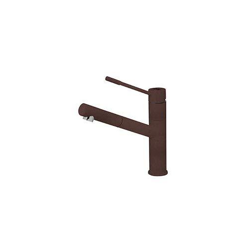 Smeg MD5RA - Grifo para fregadero de cocina con boquilla extraíble (cobre)
