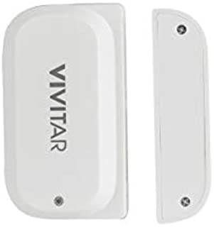 Vivitar WT06 Smart Home Security WiFi Door Sensor, Sends Alert Once Sensor is Triggered, Simple Wi-Fi Setup with App, Individual Tag Settings, Super Low Energy Consumption, White