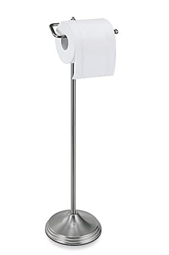 Top 10 best selling list for satin nickel free standing toilet paper holder