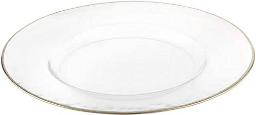 ProCooker Ranking Recommendation TOP12 Rim Chargers Plate- Silver 4 - of Set