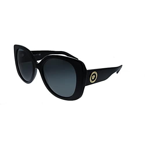 Versace 0VE4387 Gafas, BLACK/GREY, 56/19/140 para Mujer