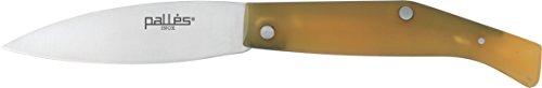 Imex El Zorro 54027 Palles Couteau Pliant Lame de 5 cm Jaune