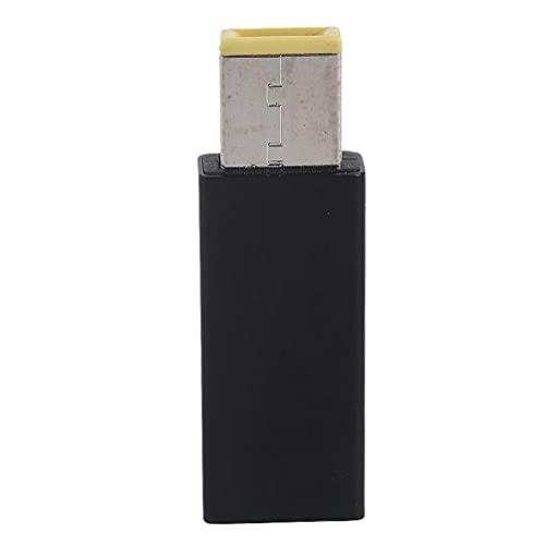 Abcidubxc Adaptador USB tipo C compatible con la serie Yoga ThinkPad y otros portátiles cualificados Se carga desde USB a USB hembra a hembra