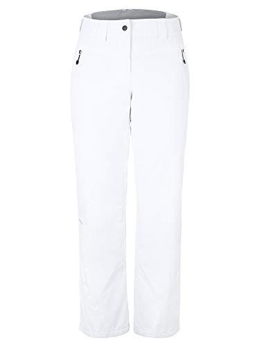 Ziener Damen PANJA Ski Snowboard-Hose   Atmungsaktiv, Wasserdicht, White, 42