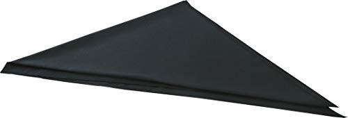 Dreiecktuch, schwarz