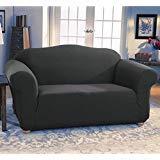Fancy Linen 3pc sofa cover jersey strech Grey New