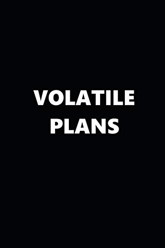 2019 Weekly Planner Funny Temper Volatile Plans Black White...