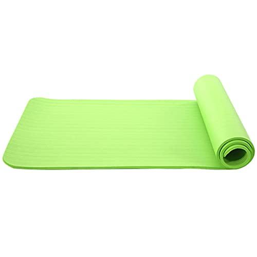 Esterilla de yoga, protección del medio ambiente y durabilidad, manta antideslizante para gimnasio, hogar, pérdida de peso, equipo de ejercicio de fitness, 4 unidades