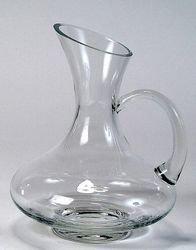 Bohemia Cristal Decantador y Jarra Multiuso con asa, Altura 24 cm, Capacidad 1200 mililitros, Talla única