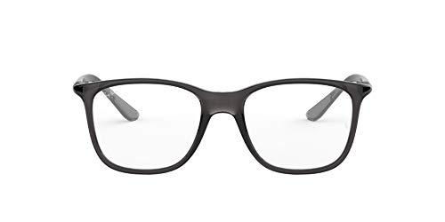 Preisvergleich Produktbild Ray-Ban Unisex-Erwachsene 0rx 7143 5620 53 Brillengestelle,  Grau (Transparente Grey)