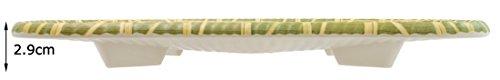 スケーター 竹風 メラミン皿 食器 幅30×奥行18×高さ2.9cm BMCT2
