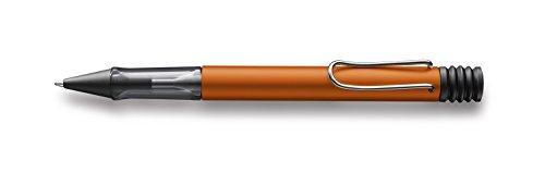 Lamy 1228079 Druckkugelschreiber Al-star 242, schwarz/orange