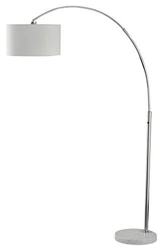 Ashley Furniture Signature Design - Areclia Arc Lamp - Floor Lamp - Contemporary - Chrome Finish
