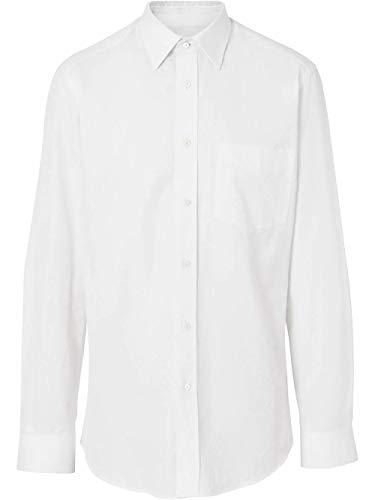 BURBERRY Luxury Fashion Herren 8014400 Weiss Baumwolle Hemd | Frühling Sommer 20
