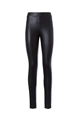 PHILIPPE MATIGNON Legging casual THERMO CUIR negro (XL)