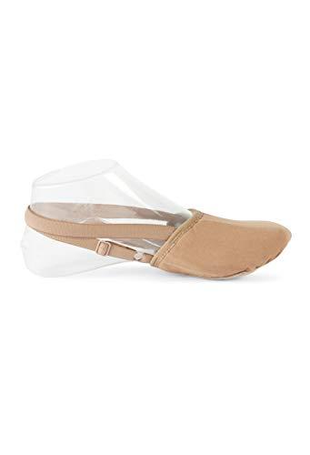 Balera Dance Shoe Stretch Canvas Turner Tan 5AM