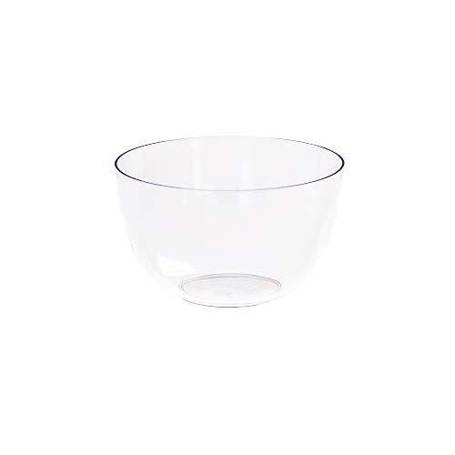 MAQA Coppette volta in plastica trasparente aperitivo finger food confezione da 24 pezzi 1