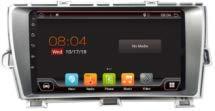 YUNTX Android 10 Autoradio Compatible avec Toyota Prius LHD (2005-2012) - GPS 2 Din - 2G32G - Caméra arrière GRATUITES - Soutien Dab / 4G / WiFi/Bluetooth/Mirrorlink/Commande au Volant/Carplay