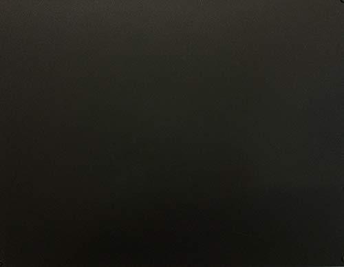 INOXLM Lavagna Magnetica da Parete in Acciaio 60 x 44 scrivibile con Pennarello (Nero)