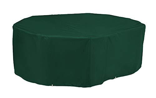 Kronenburg Schutzhülle Gartentisch Abdeckhaube, Grün, 70 x 180 x 120 cm - Abdeckung für Gartenmöbel - weitere Schutzhüllen wählbar