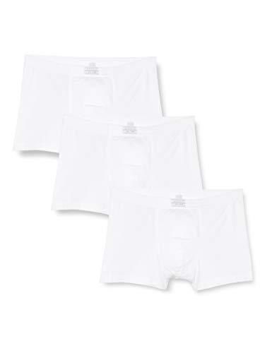 ESPRIT Bodywear Herren Retroshorts Value Pack, 3er Pack, Weiß (100), Medium (Herstellergröße: 5)