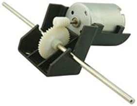 Miniature Round Motor With Worm Drive Gearbox