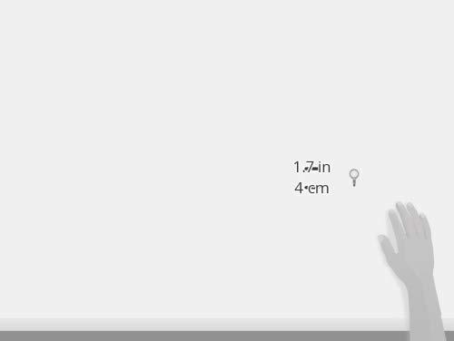 大一鋼業石膏ボード・ベニヤ・木用フックスリーピンフッククリア2個入00493360-001