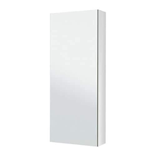 IKEA Godmorgon Spiegelschrank mit 1 Tür, 102.302.27, Größe 15 3/4 x 5 1/2 x 37 3/4 Zoll