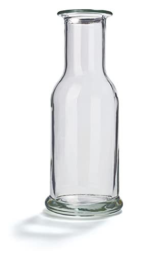 Stölzle Oberglas Karaffen 2er Set Serie Purity 500 ml I Wasserkaraffe I gläserne Spirituosenkaraffe I Milchkaraffe I aus hochwertigem Glas I bruchresistent und spülmaschinenfest