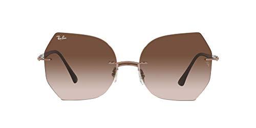 Ray-Ban 0RB8065 Gafas, BROWN ON LIGHT BROWN, 62 Unisex Adulto