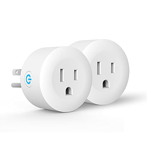 Smart Plug,DOGAIN Zigbee Smart Plugs Outlet Works with ST and Echo Plus Hub Voice Control Compatible with Alexa and the Google Assistant (Hub Required)(2 Pack)