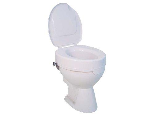Drive Medical mit Deckel, Toilettensitzerhöhung Ticco 2G, weiß