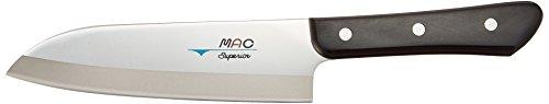 Mac Knife Superior Santoku Knife, 6-1/2-Inch, Silver