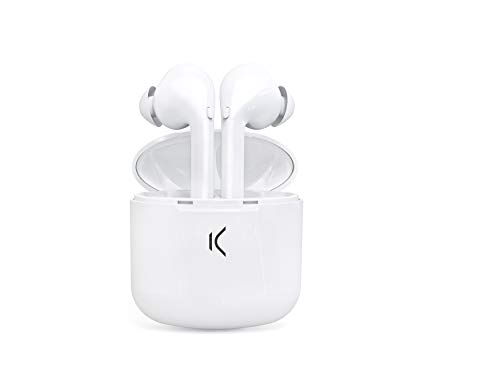 Auricular KSIX True Buds Bluetooth con MICROFONO Color Blanco