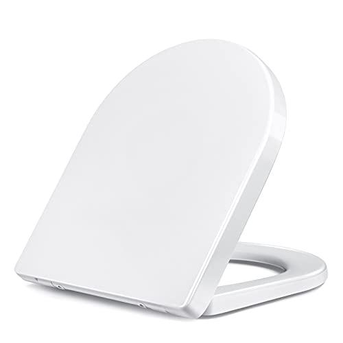 Tapa de WC, Asiento de inodoro en forma de U, Función de...