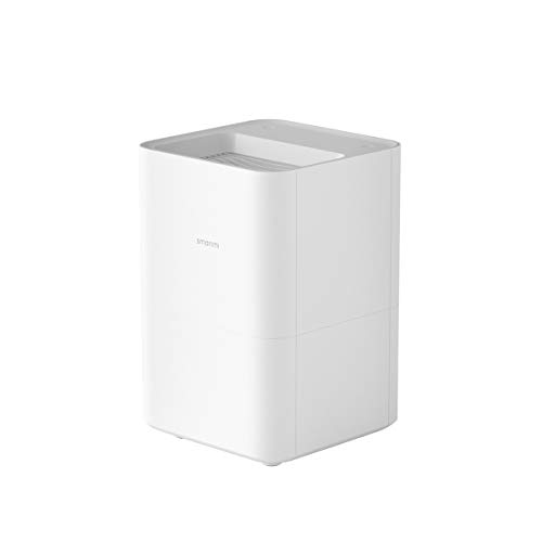 Smartmi Air Humidifiers 4L Top Fill Cool Mist Humidifier for Bedroom, Home Room, Personal Humidifiers for Baby Kids, 240 ml/h Max, Quiet & No-Mist Whisper, App Smart Control, Timer & 3 Level