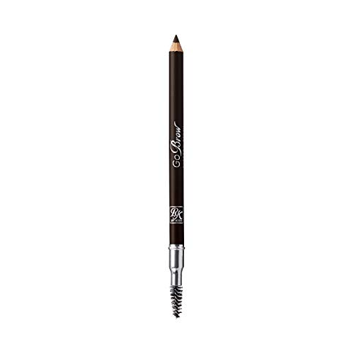 Ruby Kisses Go Brow Eyebrow Wooden Pencil w/Sharpener (Black Brown) RBWP01-3 pack