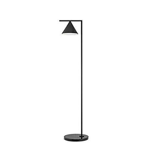 Lámpara de pie Moderna LED Pantalla geométrica Ajustable Lámpara de Lectura de pie de Poste Alto para Sala de Estar Dormitorio Habitación de niños