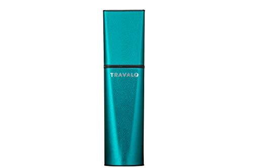 TRAVALO (トラヴァ―ロ) オブスクラ アトマイザー グリーン 香水 旅行 携帯 詰め替え ボトル 簡単 香水スプレー