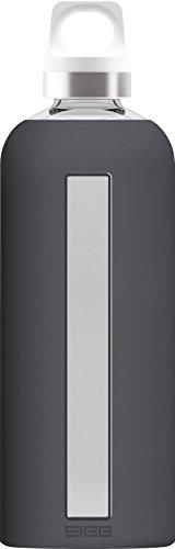Sigg Star Shade Botella para Beber, Gris Oscuro, 8.1 x 8.1 x 26.3 cm
