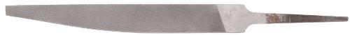 Nicholson Hand File, American Pattern, Double Cut, Knife, Medium, 8
