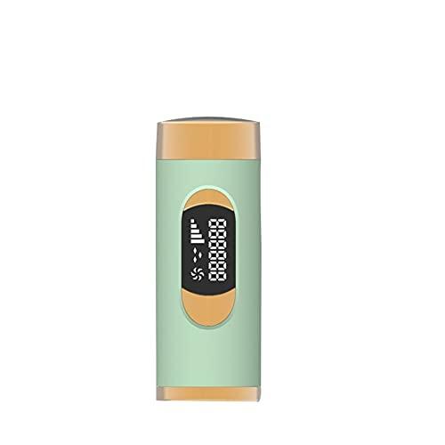NGLWA Gefrierpunkt-Haarentfernungsgerät Sicheren Und Schmerzlosen Professionellen Ergebnissen Zu Hause Schmerzloses Laser-Haarentfernungsgerät (Color : Green)