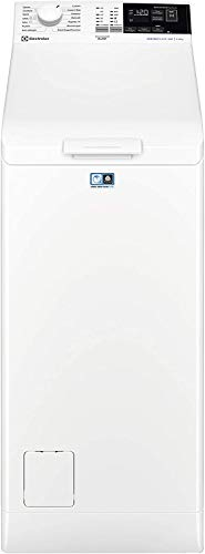 Electrolux EW6T462I Lavatrice a Carica dall'Alto, 6 kg, 51 Decibel, Bianco