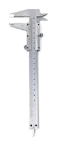 classico analogico calibro VERNICIATURA acciaio inox GUIDA LUCIDATURA 150mm argento standard classico misura interna misura esterna tiefenmaß TESTER